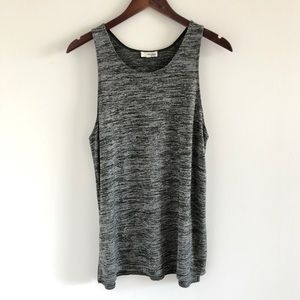 Aritzia Wilfred Free Ornella Heathered Tank Med